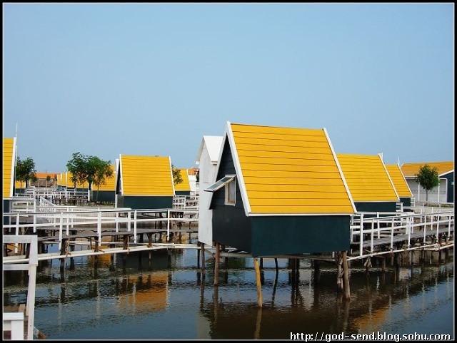 月坨岛住宿预定 荷兰小木屋