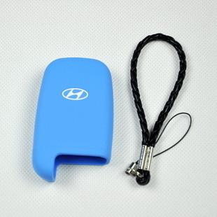 汽车硅胶钥匙包现代索纳塔ix35伊兰特途胜胜达领翔瑞纳钥匙套包邮