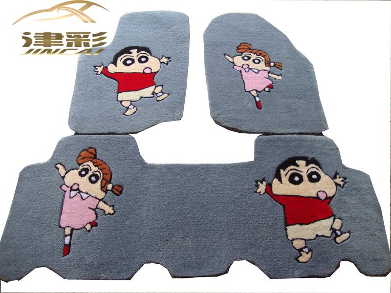 丰田rav4脚垫 汽车脚垫 可爱卡通脚垫 专车专用 车垫地毯脚垫
