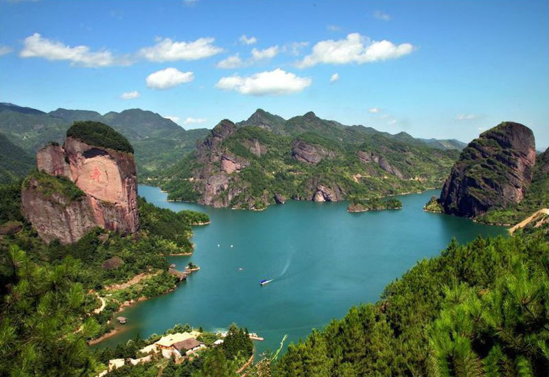 江西上饶 九仙湖 风景区景点门票 预订